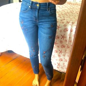 Embroidered Jeans!